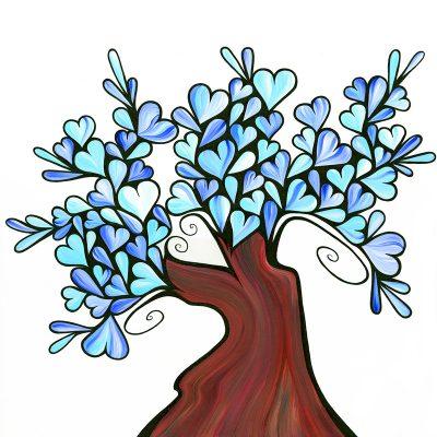blue treeWeb